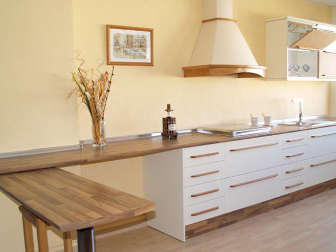 Cocinas muebles a medida armarios cocinas ba os - Cocinas naranjas y blancas ...