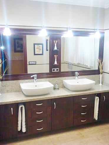 M ba o nogal muebles a medida armarios cocinas - Puertas para muebles de bano ...