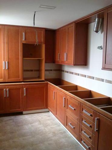 Cocina de madera | Muebles a medida | Armarios | Cocinas | Baños ...
