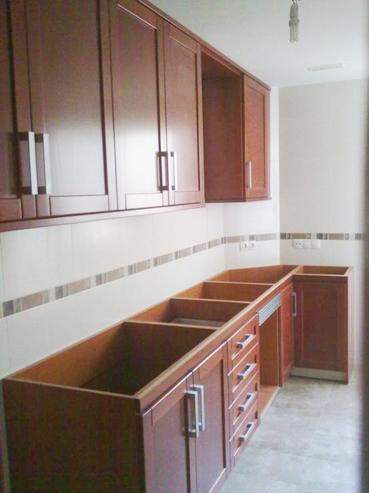 Cocina de madera   Muebles a medida   Armarios   Cocinas   Baños ...