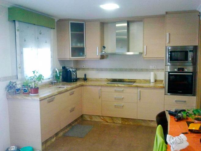 Excelente Fotos De Muebles De Cocina De Color Arce Cresta - Ideas de ...