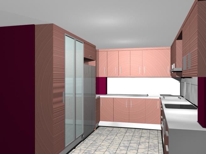 Cocina planos muebles a medida armarios cocinas for Planos de cocinas amplias